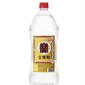 【送料無料】宝酒造 宝 焼酎 25度 2.7L(2700ml)エコペット 1ケース(6本入)