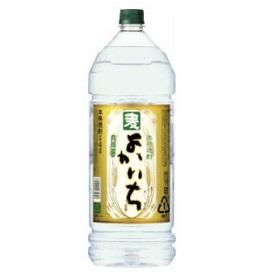 宝酒造株式会社 よかいち 麦 25度 4L エコペット 1ケース(4本入)