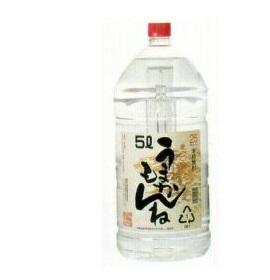 【送料無料・あす楽】宮崎県 神楽酒造 本格麦焼酎 うまかもんね(むぎ) 25度 5L(5000ml) 1ケース4本