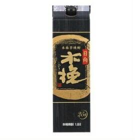 【送料無料】雲海酒造 日向木挽(こびき) 黒 芋焼酎 25度 1.8Lパック 1ケース(6本入)
