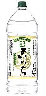 【送料無料】宝酒造 よかいち 麦焼酎 25度 4L エコペット 1ケース(4本入)