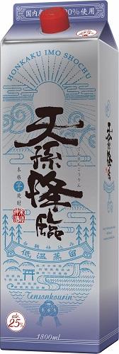 【あす楽・送料無料】神楽酒造 天孫降臨 本格芋焼酎 25度 1.8Lパック(1800ml) 2ケース(12本)