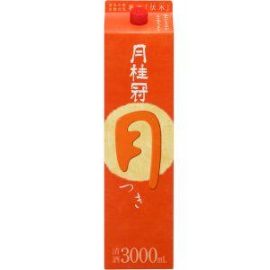 【送料無料】【あす楽対象商品!!】月桂冠 月桂冠 月(つき) 日本酒 3L 2ケース(8本)