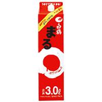 【送料無料】【あす楽対象商品!!】白鶴酒造 白鶴まる 日本酒 3L 2ケース(8本)