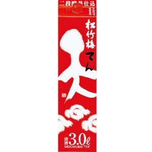 【送料無料】【あす楽対象商品!!】宝酒造 松竹梅 天 日本酒 3L 2ケース(8本)