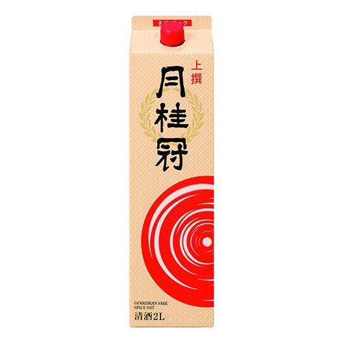 【送料無料】【あす楽対象商品!!】月桂冠 月桂冠上撰 日本酒 2L 2ケース(12本)