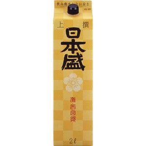 【送料無料】【あす楽!】日本盛 日本盛上撰 日本酒 2L 2ケース(12本)