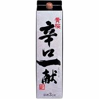 【送料無料】黄桜 辛口一献 日本酒 3L 2ケース(8本)