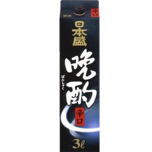 【送料無料】【あす楽!】日本盛 晩酌辛口 日本酒 3L 2ケース(8本)
