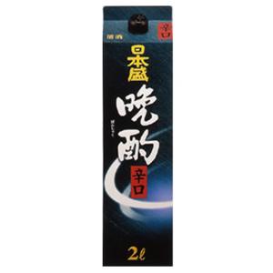 【送料無料】【あす楽!】日本盛 晩酌辛口 日本酒 2L 2ケース(12本)