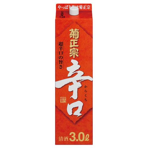 【送料無料】【あす楽!】菊正宗酒造 菊正宗辛口 日本酒 3L 2ケース(8本)