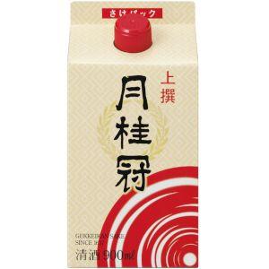 【送料無料!】月桂冠 月桂冠上撰サケパック 日本酒 900ml 2ケース(12本)