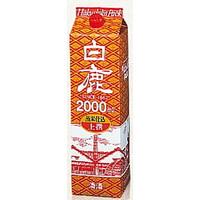 【送料無料】辰馬本家酒造 白鹿上撰ハクシカパック 日本酒 2L 2ケース(12本)
