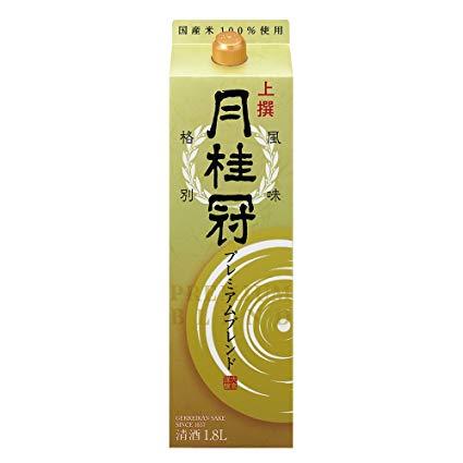 【あす楽】月桂冠 月桂冠 上撰 プレミアム 大吟醸酒ブレンド 日本酒 1.8Lパック 2ケース(12本)【送料無料】