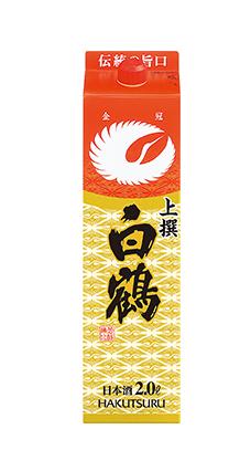 【送料無料】【あす楽!】白鶴酒造 白鶴サケパック上撰 日本酒 2L 2ケース(12本)