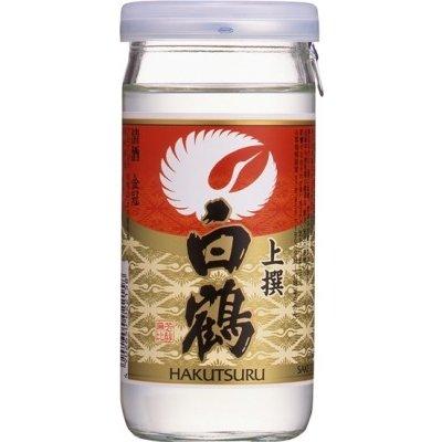 【送料無料!】白鶴酒造 白鶴上撰サケカップ 日本酒 200ml 2ケース(60本)