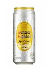 【送料無料!】サントリー 角ハイボール 500ml缶 1ケース24本×2ケース
