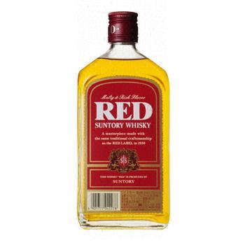 【送料無料】サントリー レッド 39度 640ml瓶 1ケース12本