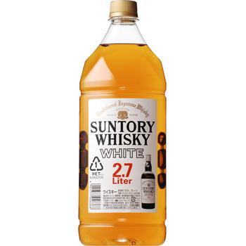 【送料無料】サントリー ホワイト 40度 2.7L 1ケース6本