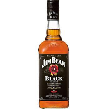 【送料無料】サントリー ジム・ビーム ブラックラベル 40度 700ml瓶 1ケース12本