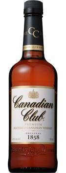 【送料無料】サントリー カナディアンクラブ 40度 700ml瓶 1ケース12本