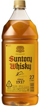 【送料無料・あす楽】 サントリー ウイスキー 角瓶 2.7LPET(2700ml) 1ケース6本