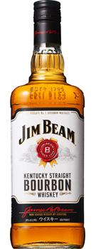 【送料無料】サントリー ジム・ビーム リッターボトル 40度 1000ml瓶(1L) 1ケース12本