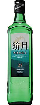 【送料無料】サントリー 鏡月 グリーン 25度 700ml瓶 1ケース12本