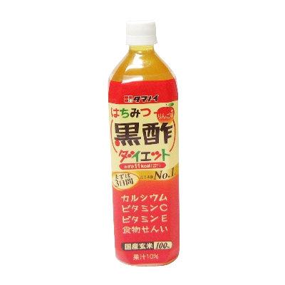 【送料無料】タマノイ酢 はちみつ黒酢ダイエット 900ml 1ケース(12本入)×2ケース