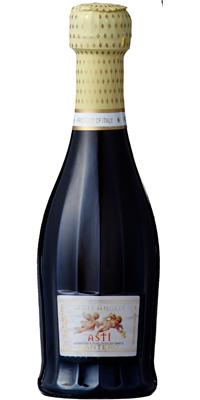 サンテロ 天使のアスティ 白 泡 200ml 24本1ケース【送料無料】 650732 飲み切りベビーボトル