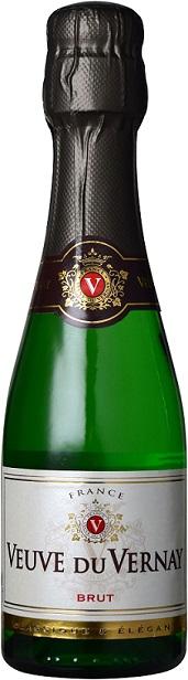 【年間EDLP】クリテール ヴーヴ・デュ・ヴェルネ ブリュット 200ml 24本1ケース【送料無料・ケース販売】 612797 飲みきりベビーボトル