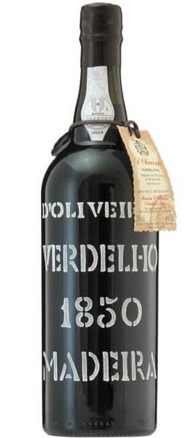 マディラ ドリヴェイラ ヴェルデーリョ 1850年 レゼルヴァ 750ml 1本 143524 【化粧箱・替栓付き】