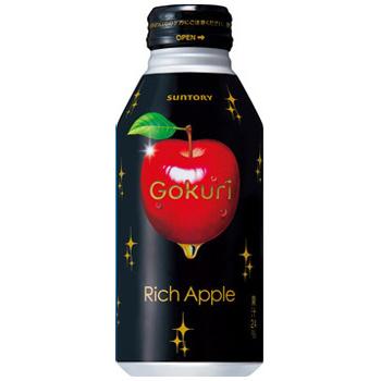 三得利Gokuri(gokuri)里奇苹果瓶罐400g*24部[16%OFF]