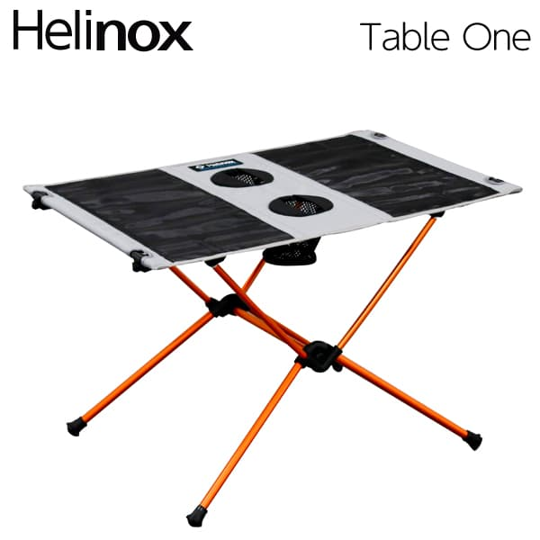 Helinox ヘリノックス Table One Grey テーブルワン グレー 折りたたみテーブル【送料無料】※北海道・沖縄・離島を除く