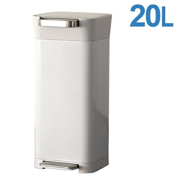 Joseph Joseph ジョセフジョセフ クラッシュボックス 20L(最大60L) ストーン Titan Trash Compactor 30039 圧縮ゴミ箱【送料無料】※北海道・沖縄・離島を除く