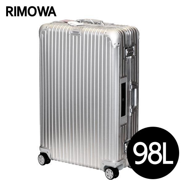 リモワ RIMOWA トパーズ 98L シルバー E-Tag TOPAS ELECTRONIC TAG スーツケース 924.77.00.5【送料無料】※北海道・沖縄・離島を除く