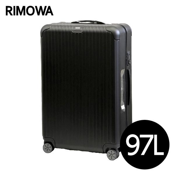 リモワ RIMOWA サルサ 97L マットブラック E-Tag SALSA ELECTRONIC TAG マルチホイール スーツケース 811.77.32.5【送料無料】※北海道・沖縄・離島を除く