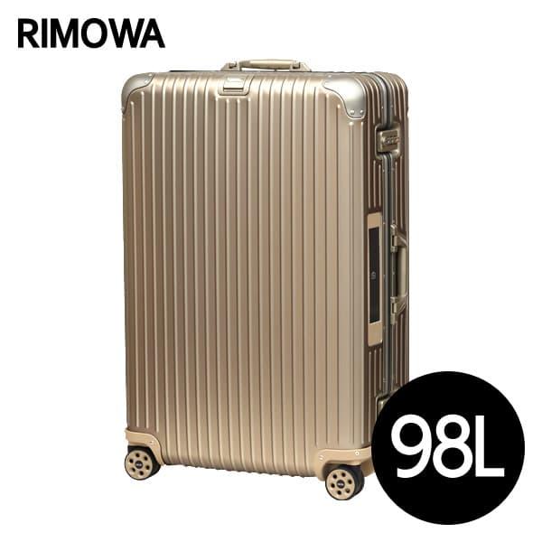 リモワ RIMOWA トパーズ チタニウム 98L E-Tag TOPAS ELECTRONIC TAG マルチホイール スーツケース 924.77.03.5【送料無料】※北海道・沖縄・離島を除く