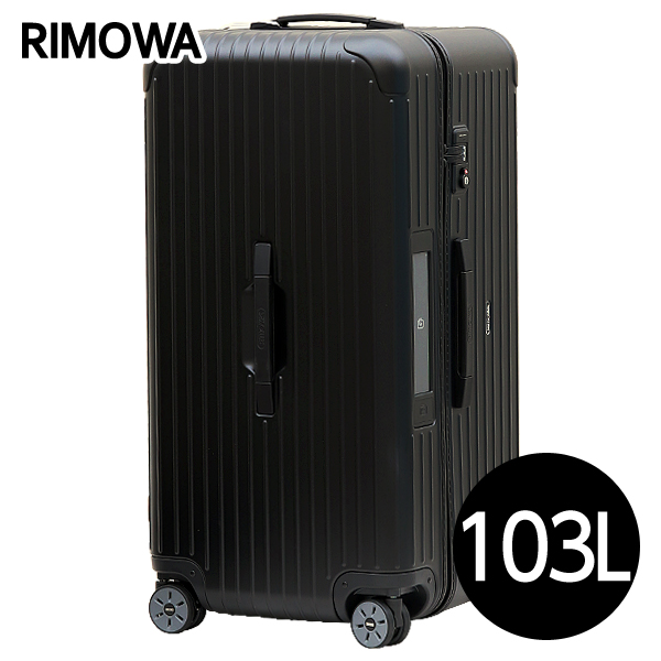 リモワ RIMOWA サルサ スポーツ 103L マットブラック E-Tag SALSA ELECTRONIC TAG スポーツ マルチホイール スーツケース 811.80.32.5