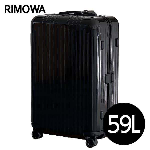 リモワ RIMOWA エッセンシャル ライト チェックインM 59L グロスブラック ESSENTIAL Check-In M スーツケース 823.63.62.4【送料無料】