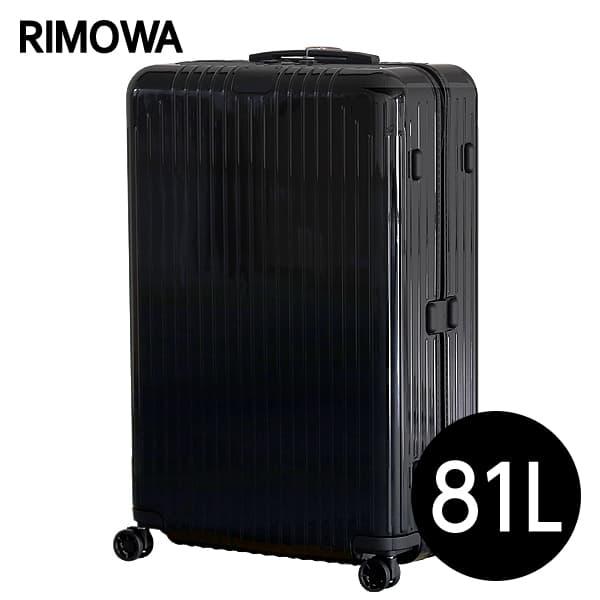 リモワ RIMOWA エッセンシャル ライト チェックインL 81L グロスブラック ESSENTIAL Check-In L スーツケース 823.73.62.4【送料無料】