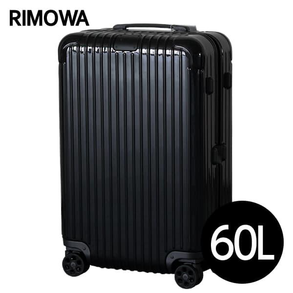 リモワ RIMOWA エッセンシャル チェックインM 60L グロスブラック ESSENTIAL Check-In M スーツケース 832.63.62.4【送料無料】