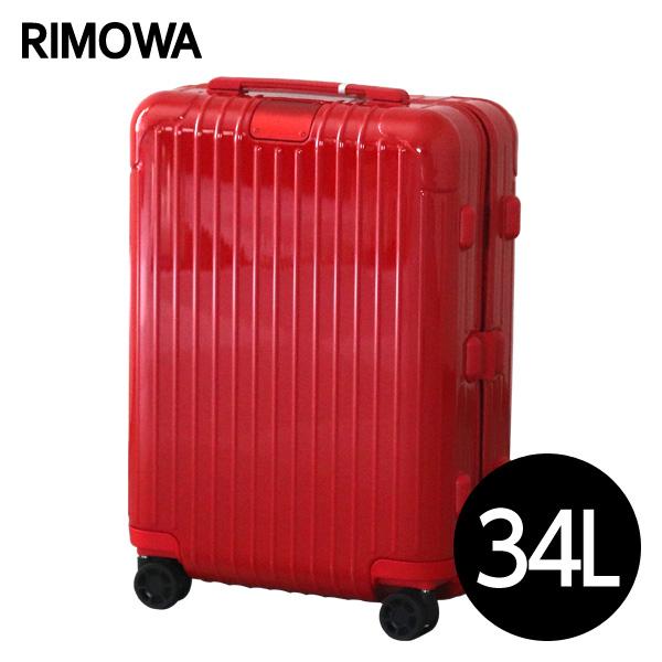 『期間限定ポイント10倍』リモワ RIMOWA エッセンシャル キャビンS 34L グロスレッド ESSENTIAL Cabin S スーツケース 832.52.65.4【送料無料】