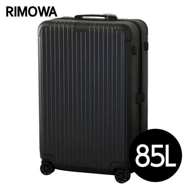 リモワ RIMOWA エッセンシャル チェックインL 85L マットブラック ESSENTIAL Check-In L スーツケース 832.73.63.4【送料無料】※北海道・沖縄・離島を除く