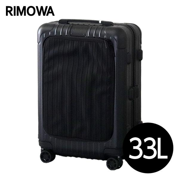 リモワ RIMOWA エッセンシャル スリーブ キャビンS 33L マットブラック ESSENTIAL SLEEVE Cabin S スーツケース 842.52.63.4【送料無料】※北海道・沖縄・離島を除く