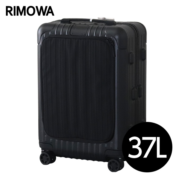 リモワ RIMOWA エッセンシャル スリーブ キャビン 37L マットブラック ESSENTIAL SLEEVE Cabin スーツケース 842.53.63.4【送料無料】※北海道・沖縄・離島を除く