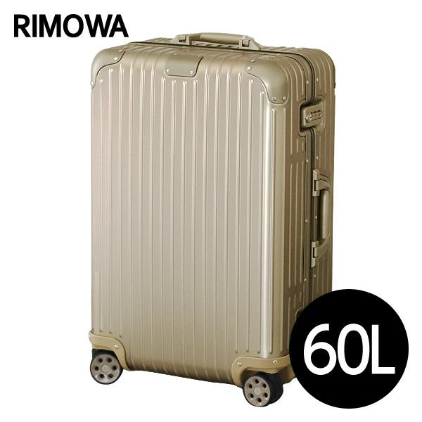 リモワ RIMOWA オリジナル チェックインM 60L チタニウム ORIGINAL Check-In M スーツケース 925.63.03.4 【送料無料(一部地域除く)】【送料無料】