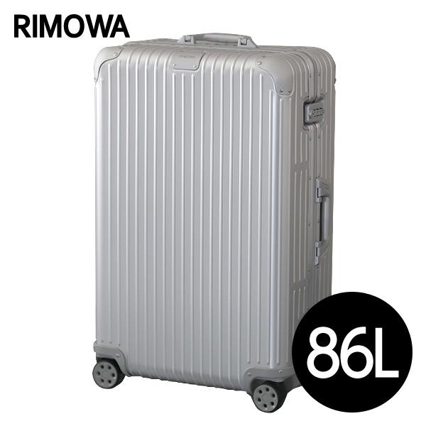 リモワ RIMOWA オリジナル チェックインL 86L シルバー ORIGINAL Check-In L スーツケース 925.73.00.4 【送料無料】※北海道・沖縄・離島を除く