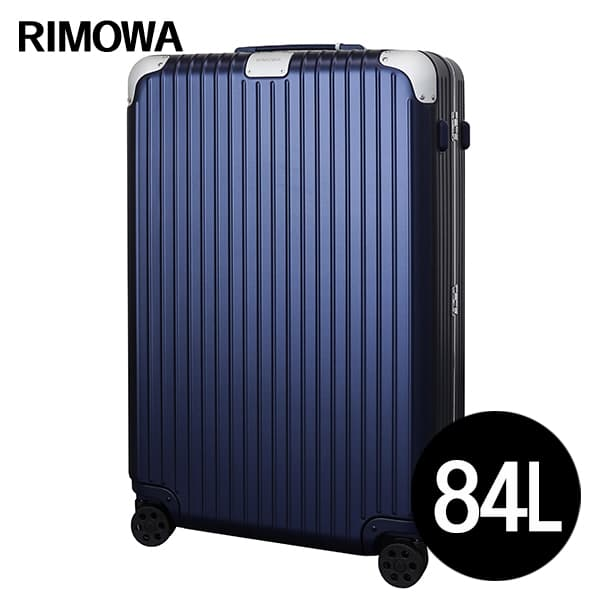 リモワ RIMOWA ハイブリッド チェックインL 84L マットブルー HYBRID Check-In L スーツケース 883.73.61.4【送料無料】