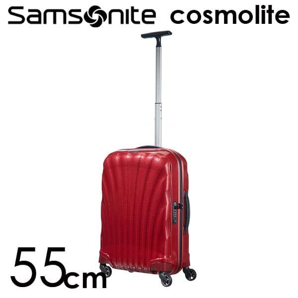 サムソナイトコスモライト3.0 スピナー 55cm レッド Samsonite Cosmolite 3.0 Spinner V22-00-302 36L【送料無料】※北海道・沖縄・離島を除く
